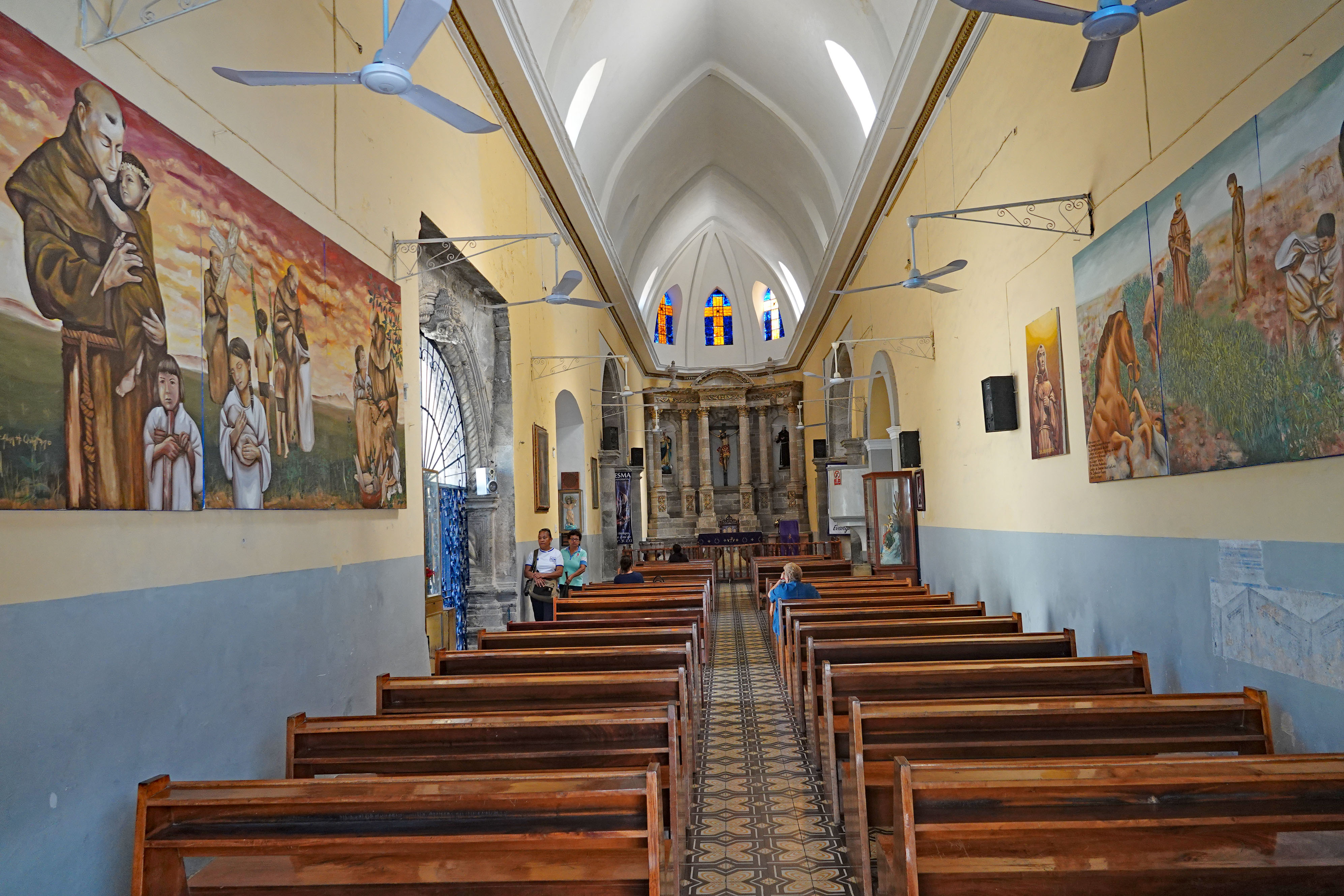 This chapel, built in Tepic, Nayarit, Mexico, in 1784, pays homage to Fray Junipero Serra. He resided in Tepic before setting out to civilize California. Photo: Fred Swegles