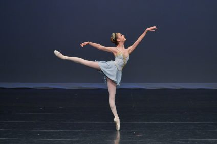 San Clemente High School senior and ballet dancer Nicole Denney, 17, will depart on July 5 for New Zealand, where she will tour with the Royal New Zealand Ballet. Photo: Courtesy of Denney Family