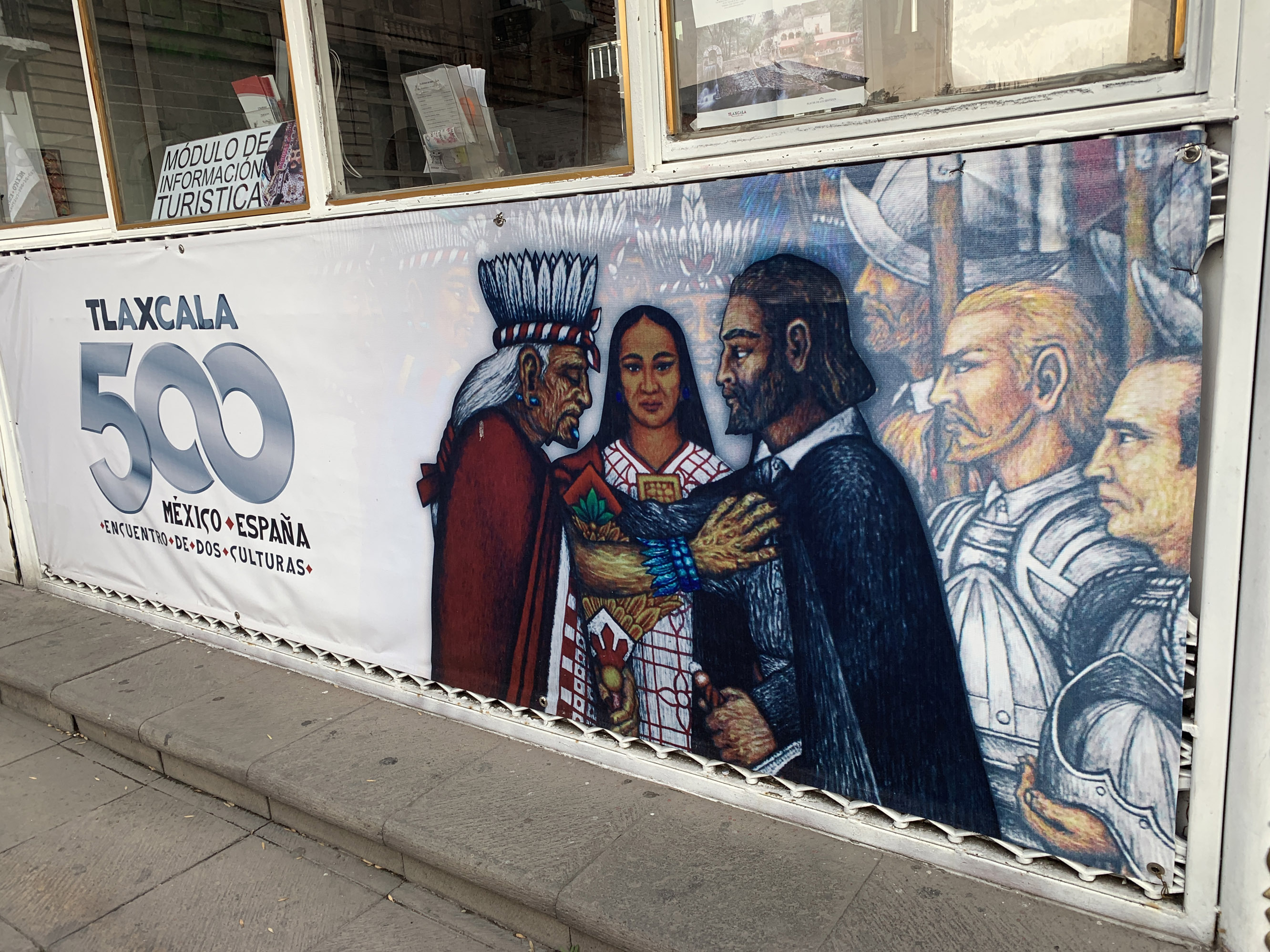 The city of Tlaxcala, Mexico, is observing the 500th anniversary of the 1519 meeting of two cultures and its far-reaching implications. Photo: Fred Swegles