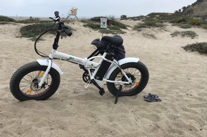 How to deal with and regulate the electric bikes on the Trestles trails in San Clemente presents a challenge for foot-travelers. Photo: Jake Howard