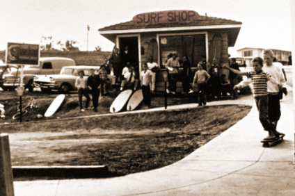 Old school surf shop style. Photo Courtesy SHACC.